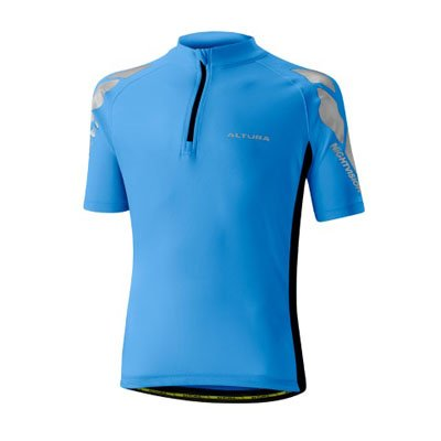 BLUE ALTURA YOUTH NIGHTVISION SHORT SLEEVE JERSEY