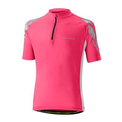 PINK ALTURA YOUTH NIGHTVISION SHORT SLEEVE JERSEY