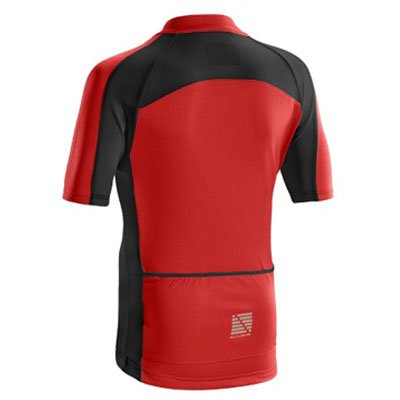 RED ALTURA CHILDREN'S SPRINT SHORT SLEEVE JERSEY