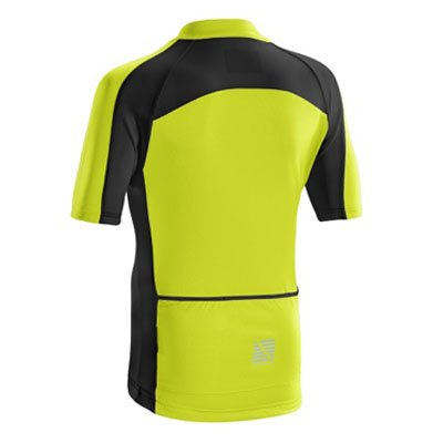 YELLOW ALTURA CHILDREN'S SPRINT SHORT SLEEVE JERSEY