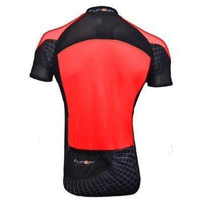 red Funkier Force Kids Short Sleeve Jersey