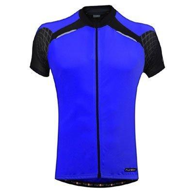 blue Funkier Force Kids Short Sleeve Jersey