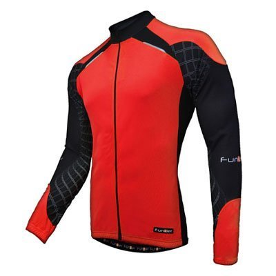 RED Funkier Force Kids Long Sleeve Jersey