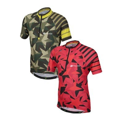 TARS AND STRIPES CHILDRENS CYCLING JERSEY