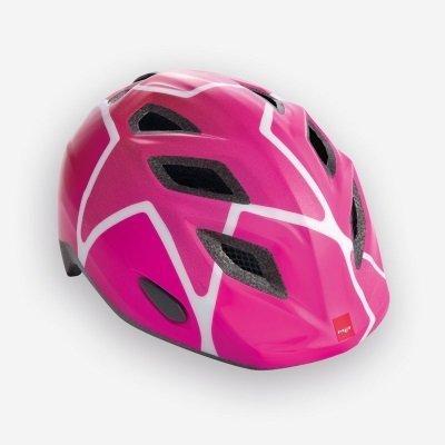 Met Genio Helmet Pink Star