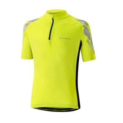 Altura Youth NightVision Short Sleeve Jersey Yellow