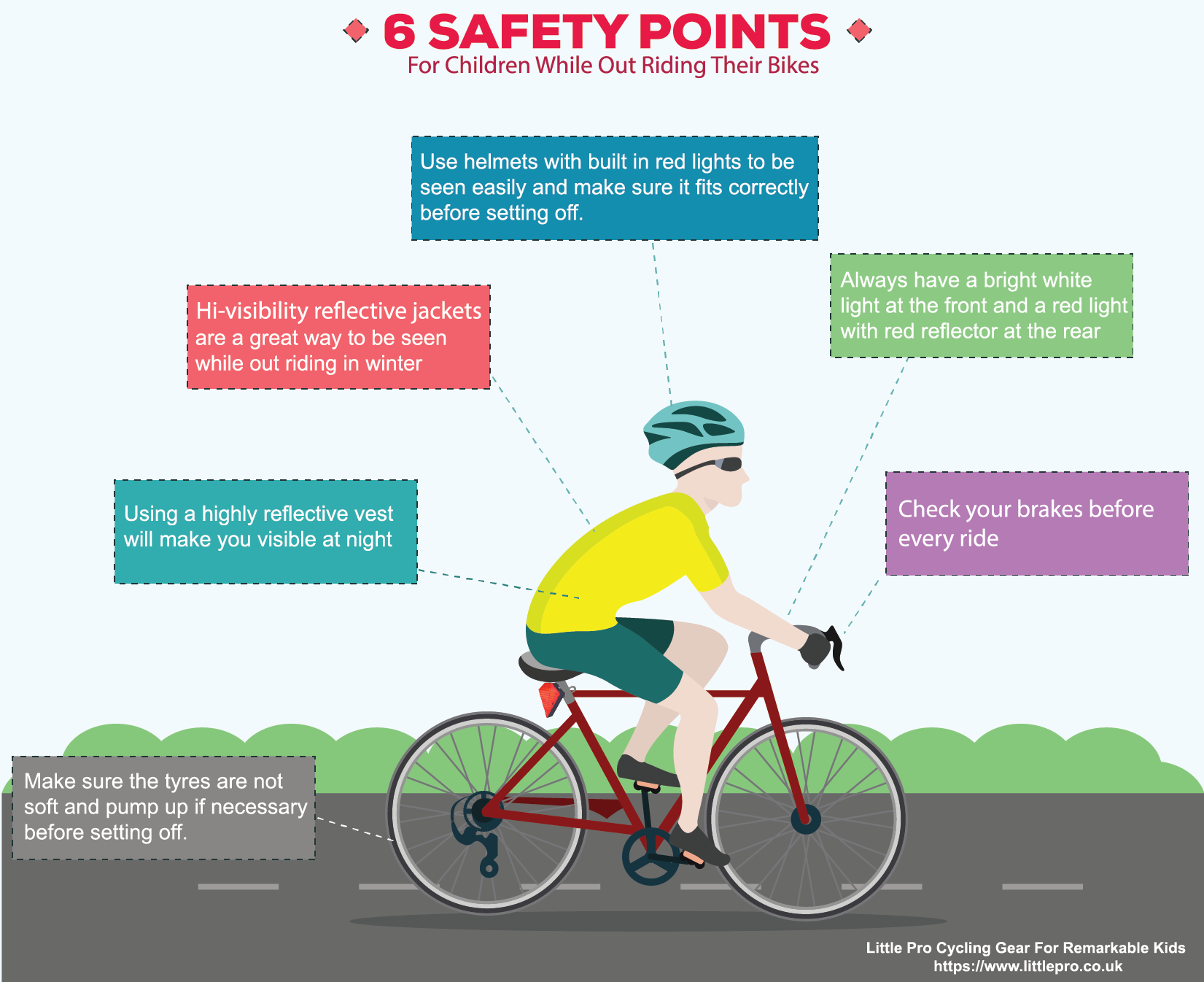 Here Are 6 Simple But Essential Biking Tips For A Safe