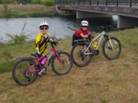 kids training for the taff trail