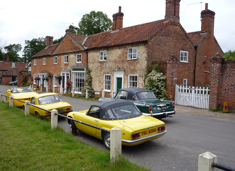 Heydon village Image courtesy of Flickr