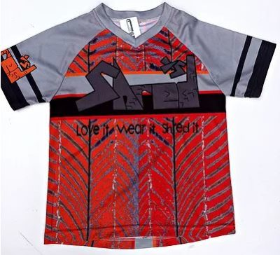 Shred XS Funky Children's Cycling Jersey