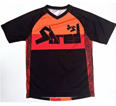 Shred XS Enduro Retro Casual Kids Cycling Jersey