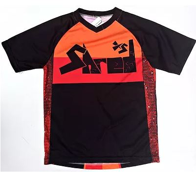 Shred XS Enduro Retro Casual Kids Cycling Jersey