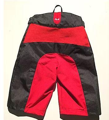 ShredXS Enduro Kids Cycling Shorts Red & Black