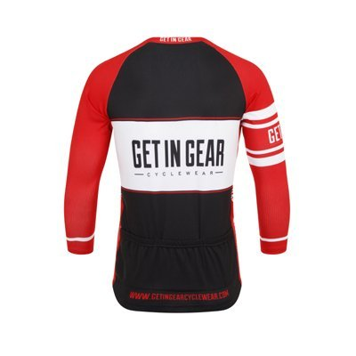Get In Gear Spartan Long Sleeved Cycling Jersey