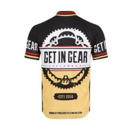 Get In Gear Signature Short Sleeved Cycling Jersey