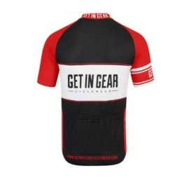Get In Gear Spartan Short Sleeved Cycling Jersey
