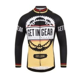 Get in Gear Signature Long Sleeved Cycling Jersey
