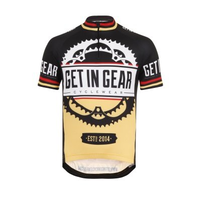Get In Gear Signature Kids Cycling Jersey