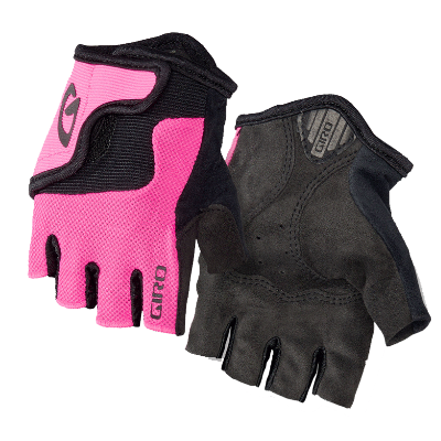 Giro Bravo Kids Cycling Mitt Pink