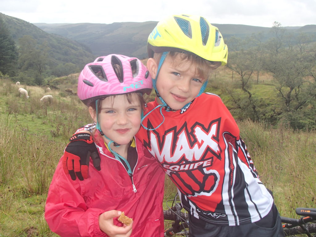 encouragement from Lewis on The Taff Trail