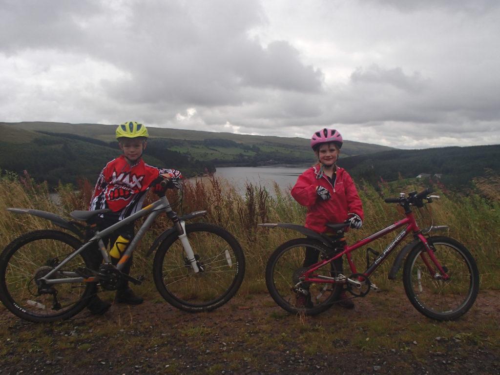 The Taff Trail Welsh hills