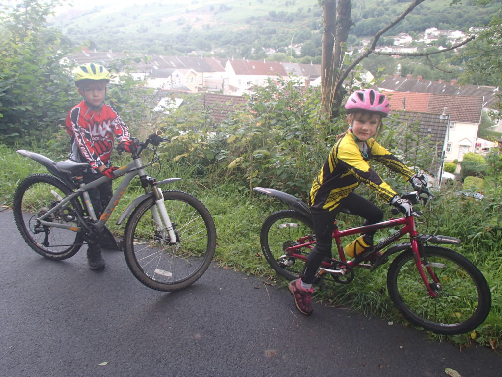 lara and lewis The Taff Trail
