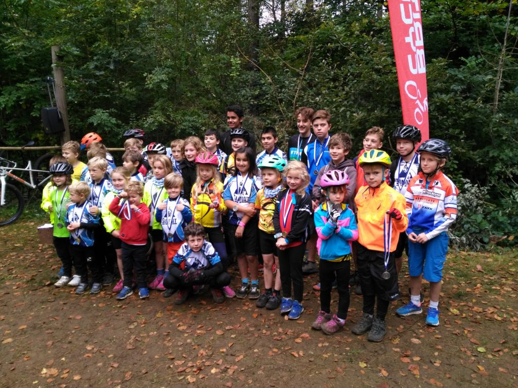 kids who enjoyed the Summit MTB Club event