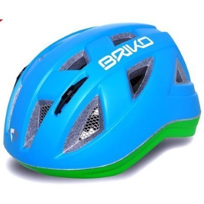 Briko Blue & Green Paint Helmet