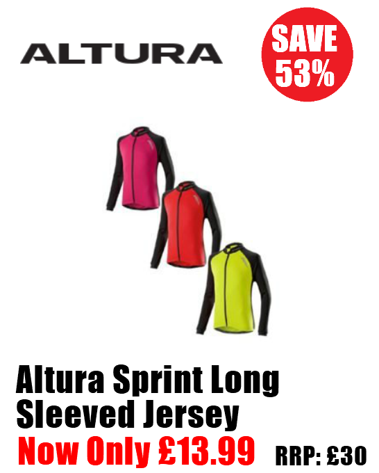 Altura Sprint Long Sleeved Jersey