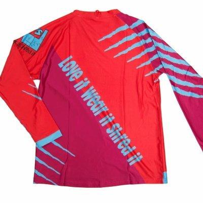 Shred XS Raptor Downhill MTB Jersey Rear