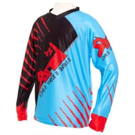 Shred XS Trex Downhill MTB Jersey Front