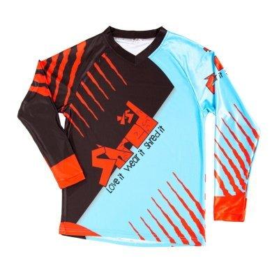 Shred XS Trex Downhill MTB Jersey Front