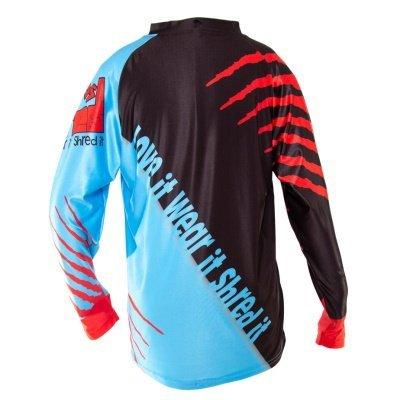 Shred XS Trex Downhill MTB Jersey Back