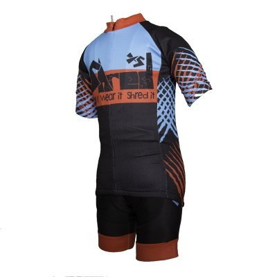 Shred XS XC Cyclocross Childrens Cycling Jersey Front