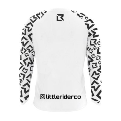 Little Rider Co Balance Jersey White Back