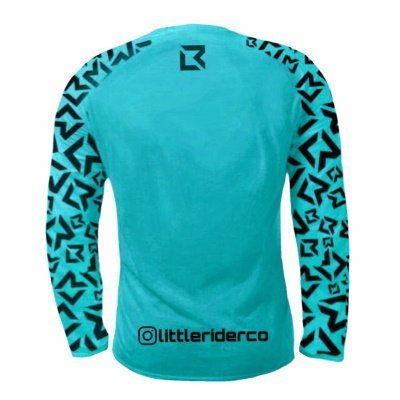 Little Rider Co Balance Jersey Tealy Back