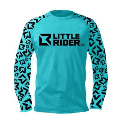 Little Rider Co Balance Jersey Tealy Front