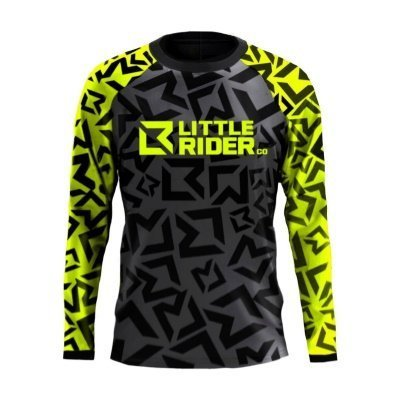 Little Rider Co Classic Jersey Limey Front
