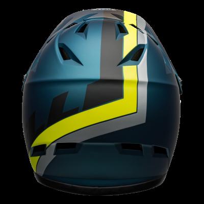 Bell Sanction Full Face MTB Helmet - Blue - Rear