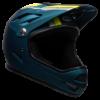 Bell Sanction Full Face MTB Helmet - Blue - Side