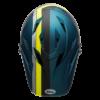 Bell Sanction Full Face MTB Helmet - Blue - Top