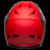 Bell Sanction Full Face MTB Helmet - Crimson / Slate / Grey - Rear
