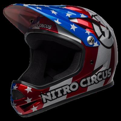 Bell Sanction Full Face MTB Helmet - Nitro Circus - Side