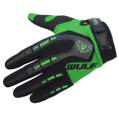 Wulfsport Attack Kids Cycling Glove Green