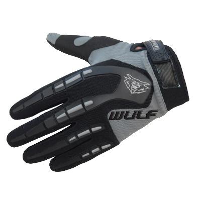 Wulfsport Attack Kids Cycling Glove Grey