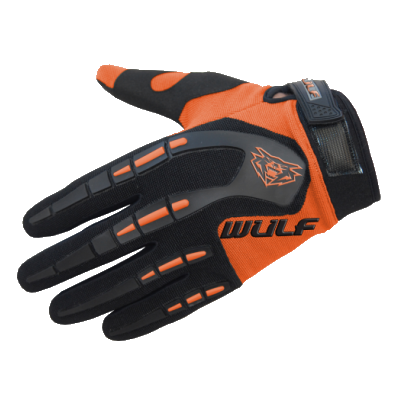 Wulfsport Attack Kids Cycling Glove Orange