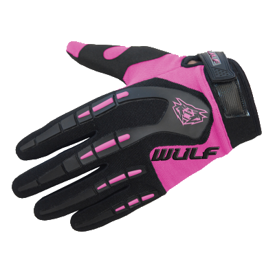 Wulfsport Attack Kids Cycling Glove Pink