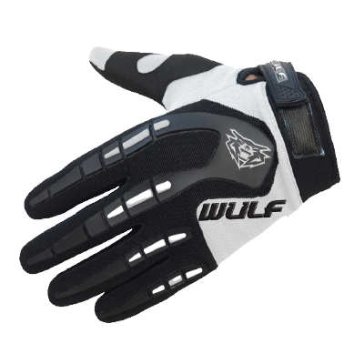 Wulfsport Attack Kids Cycling Glove White