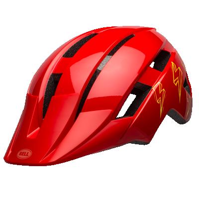 Bell Sidetrack II Youth Helmet Bolt Gloss red