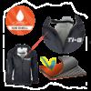 Ti-Go Bikes Totes Dry Waterproof Jacket